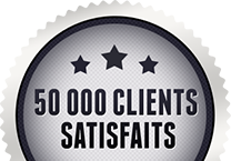 50 000+ clients satifaits